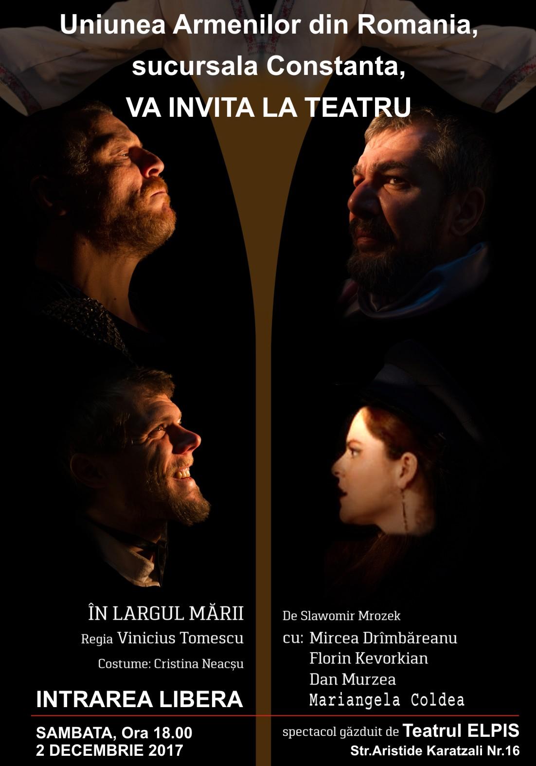 In largul marii – Piesa de teatru