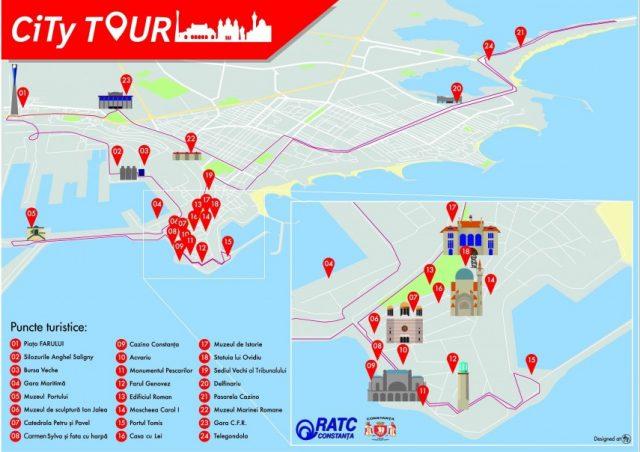 Grecii și armenii au dăruit constănțenilor prima aplicație pentru promovarea orașului.