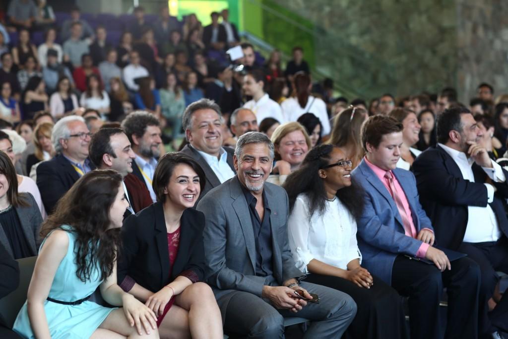 Clooney at UWCD
