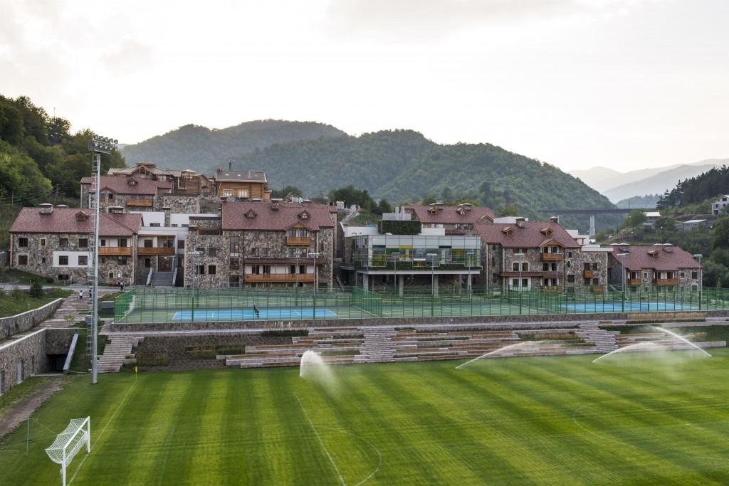 UWC Dilijan_Danil Kolodin_Soccer field